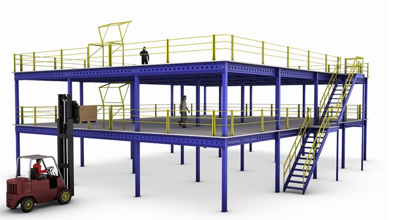 Mezzanine Systems Ireland Forklift Services